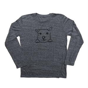 犬Tシャツ  M メンズ 長袖