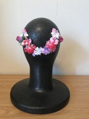 バレエ 花飾り ピンク