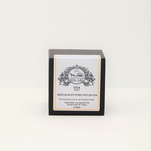 【世界三大銘茶】バラのような香味のセイロンティー*ウヴァ(ティーバッグ6個入)【100%無添加】