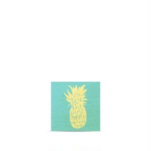 ハワイ限定商品を安心の国内配送で!≪正規輸入品≫日本未発売!【Soha Living/ ソーハリビング】ウッドマグネット パイナップルオブマイアイ