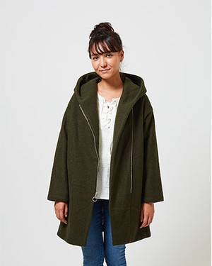 NEED TO DROP INTO TOKY COAT/DK SAFARI