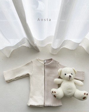 =sold out= thick rib T-shirt〈Aosta〉