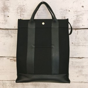 canvas backpack(black color)【naomi model】