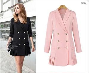 大きいサイズ♡フリル裾コート ジャケット