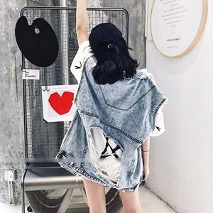 【アウター】デニムファッションダメージ加工個性的人気ベスト44699653