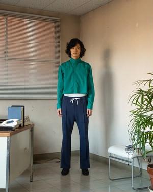 ショートドレスシャツ(グリーン)
