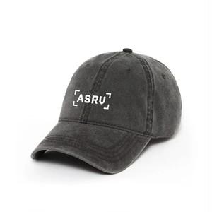 完売御礼【ASRV】ガーメントダイロゴキャップ - Grey/White
