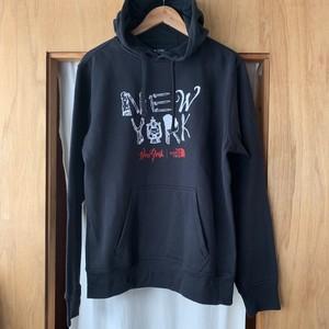 NY限定 The North Face NY Camp Font Hooded Sweatshirt