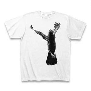 Tシャツ / crow B&W