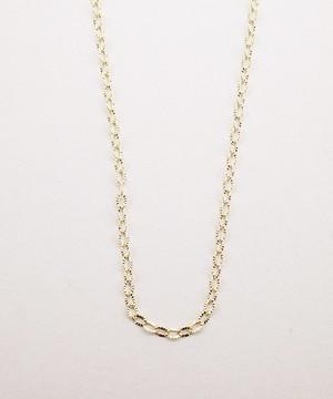 【ISOLATION / アイソレーション】 K10YG Petal chain Necklace
