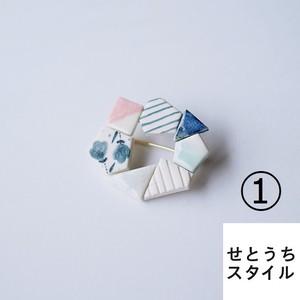 輪っか型ブローチ (ORIDE chise/広島県豊島)
