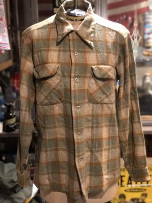 70s ビンテージ  ペンドルトン ウール ボードシャツ pendleton USA製