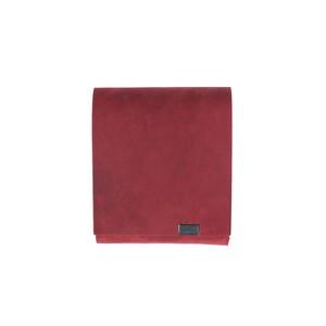 オイルヌバック ショートウォレット2.0 限定色レッド