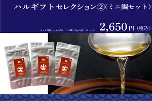 ◆ハルのギフトセレクション② (ミニギフト:たい)※ギフト包装・のし対応