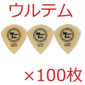 ULTEM (ウルテム) JAZZ XL ジャズ型 ピック 【×100枚】送料込み 5000円