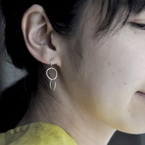 indigo-silver WORKS - silver ◎ chain pierce -