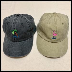 SUMMER LOGO CAP【BEIGE/GRAY】