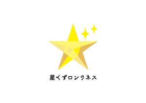 【投げ銭】星くずロンリネス応援グッズ ロゴステッカー
