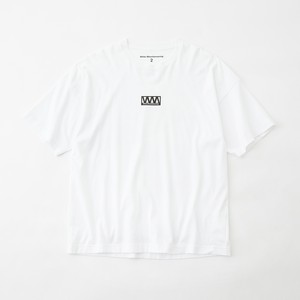 WIDE PRINTED T-SHIRT- WHITE