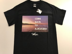 'AJIGAURA' PHOTO T-SHIRT[BLACK]