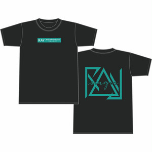 RAY with efree band T SHIRT(BLACK)