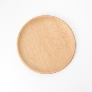 【SL-0091】木製 21cmプレート ナチュラル