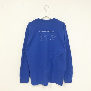 TRASH L/S TEE(BLUE)