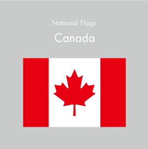 国旗ステッカー カナダ