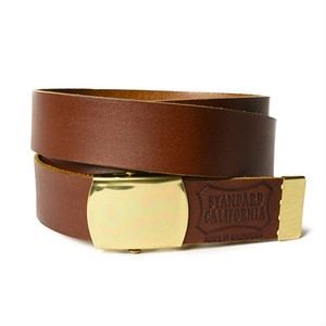 STANDARD CALIFORNIA スタンダードカリフォルニア SD Made in USA Easy Leather Belt