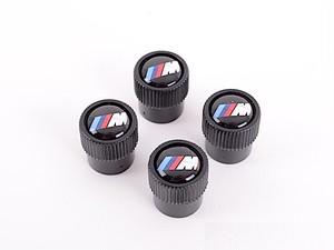 BMW純正部品 エアバルブキャップ Mロゴ ブラックタイプ アメリカ限定品