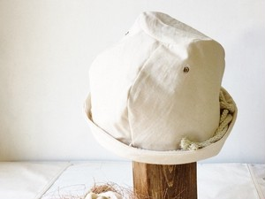 LINEN ROPE HELMA HAT | OFFWHITE【L:58~61】