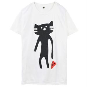 もずにゃん 散歩プリント 【BIGサイズ】Tシャツ