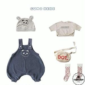 «予約»«bebe» guno bebe panda 2colors パンダスーツ