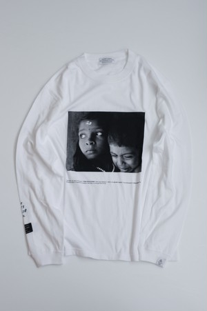 【POET MEETS DUBWISE(ポエトミーツダブワイズ)】 G&B Photo Long Sleeve T-Shirt