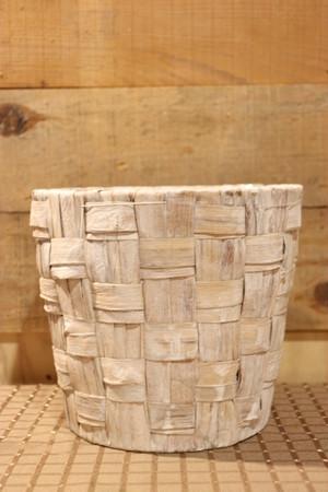 ヒヤシンス ダ鉢5号用 ベージュ ベース 鉢カバー プランターカバー 花器