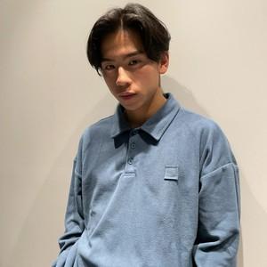 【翌日発送】Front button vintage swearshirts LD0654