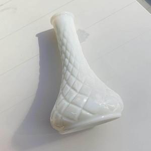 ヴィンテージ ミルクガラス花瓶02