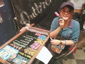 【数量限定】ゆいちゃんが貴方の妄想の一日を看板に書きます!