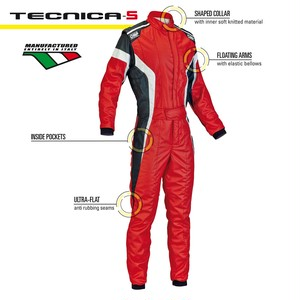 IA01850063 TECNICA-S SUIT RED/WHITE