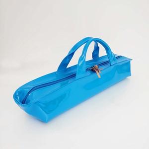 [ sugaya design lab エナメルバッグ ] hosonaga  L ブルー