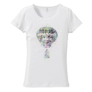 [レディースTシャツ] Space balloon