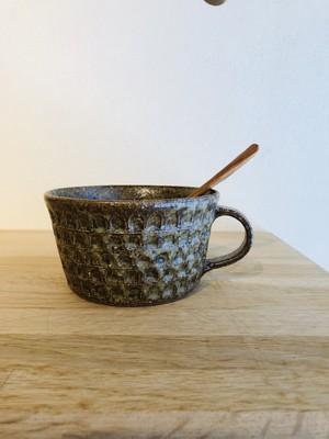 伊藤 豊 ブロックスープカップ(もえぎ)