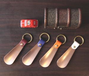 【靴ベラ 殺菌性純銅素材】Copper Shoehorn SH-01
