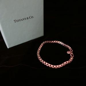 Tiffany Simple-Style Silver Bracelet -美品!-