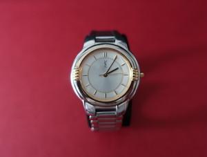 YSL Metal Watch Off-white