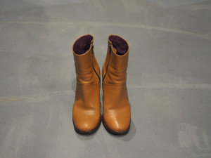 Max Mara Side Zip Boots / Made in Italy [S448]