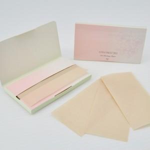 尾道あぶらとり紙(さくらの香りの台紙付き)