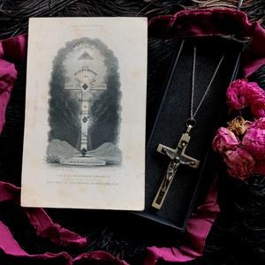 十字架とプロビデンスの目のホーリーカード
