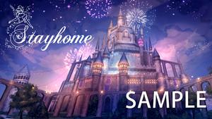 【プリンセスシリーズ】お城の前で!