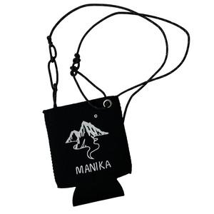 MANIKA Original Logo Koozie 350ml by Tatsuya Hirayama / Black